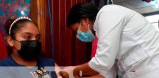 Jornada de vacunación para familias en Río San Juan