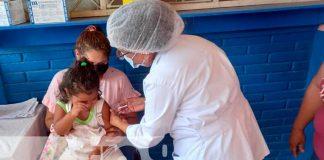Jornada para aplicar vacunas en Chichigalpa, Chinandega