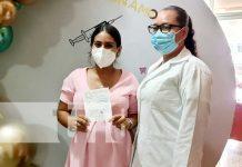 Jornada de vacunación para embarazadas en Nicaragua
