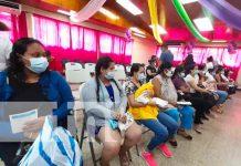 Cuarto día de vacunación a mujeres embarazadas contra la Covid-19