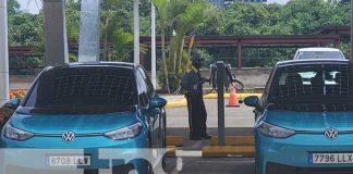 Vehículos eléctricos que ingresan a Nicaragua