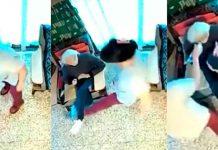 Señora de 100 años es golpeada brutalmente por su cuidadora (VIDEO)