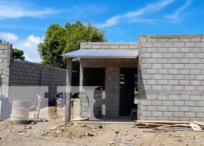 """Construcción de viviendas del proyecto """"Bismarck Martínez"""" en Rivas"""