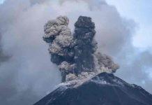 Alertan caída de ceniza del volcán Reventador de Ecuador