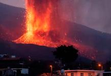 Avanza destrucción provocado por el volcán en La Palma